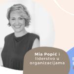 Employer Branding Espresso – Mia Popić i liderstvo u organizacijama