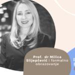 Employer Branding Espresso – Prof. dr Milica Slijepčević i formalno obrazovanje
